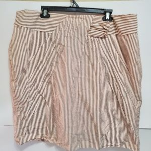 DownEast XXL Striped skirt